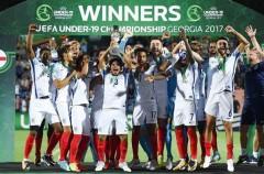 Inglaterra gana el Europeo sub 19 de 2017