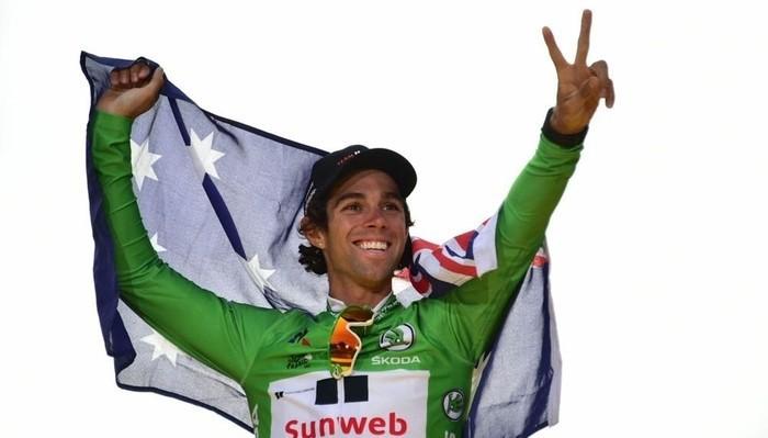 Michael Matthews ganó el maillot verde del Tour de Francia 2017