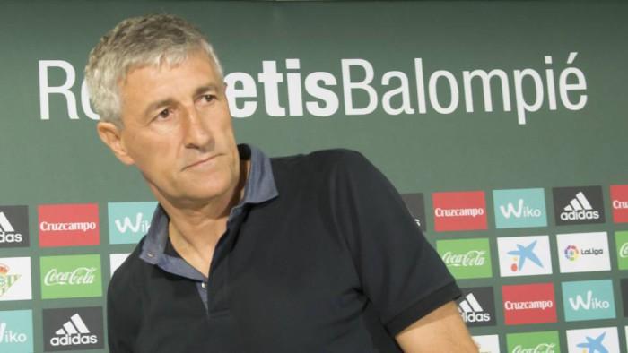 Quique Setién es el nuevo entrenador del Betis