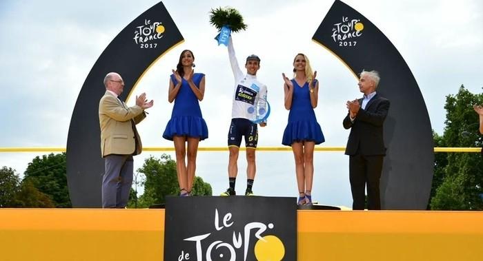 Simon Yates ha sido el mejor joven del Tour de Francia 2017