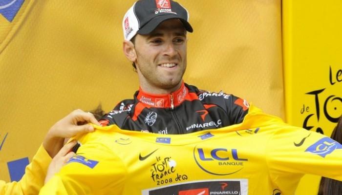 Valverde de líder del Tour de Francia 2008