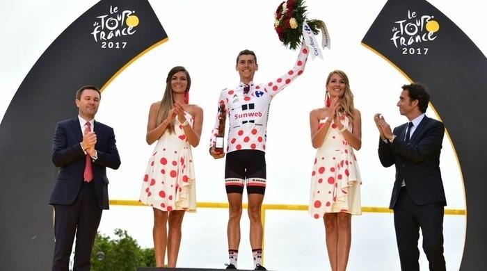 Warren Barguil se llevó la montaña del Tour de Francia 2017