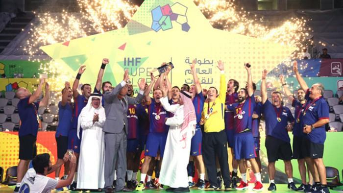 El Barça de balonmano gana la Super Globe 2017