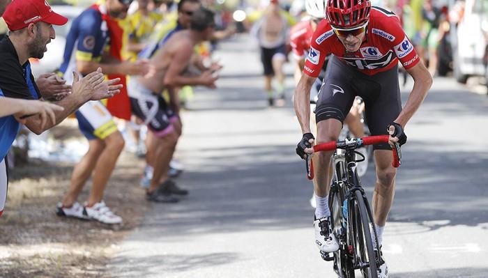 Chris Froome está siendo el más fuerte de la Vuelta