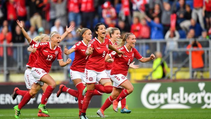 La selección de Dinamarca se metió en la final de la Eurocopa femenina 2017