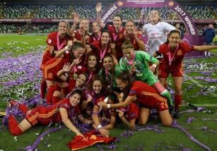 España gana el Europeo sub 19 de 2017 en categoría femenina