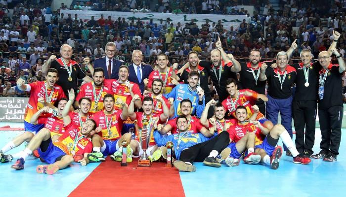 Los juniors de oro del balonmano español