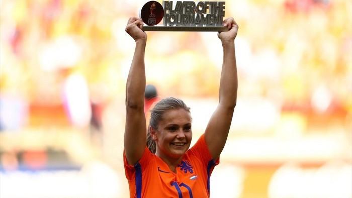 Lieke Martens, mejor jugadora de la Eurocopa femenina 2017