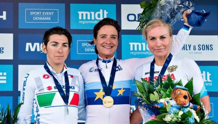 Marianne Vos ganó en los Europeos de ciclismo