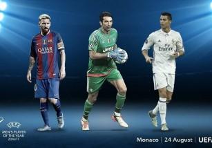 Los nominados al Mejor jugador de la UEFA 2016-2017