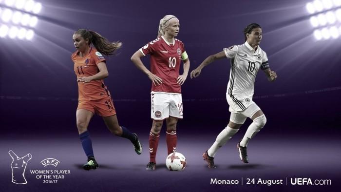 Candidatas a mejor jugadora de la UEFA