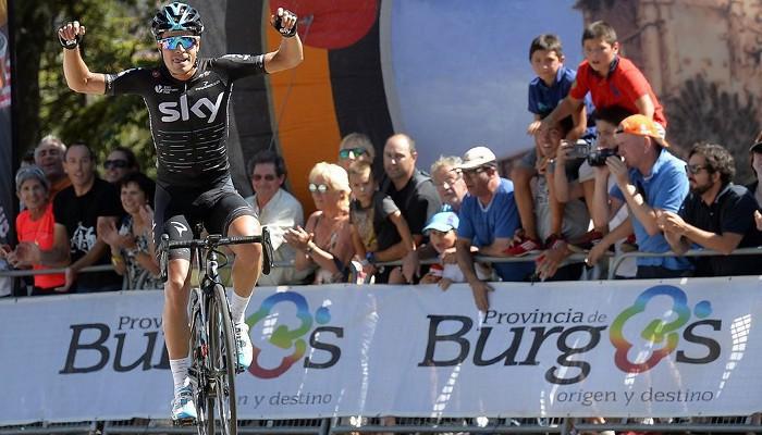 Mikel Landa ganó la Vuelta a Burgos 2017