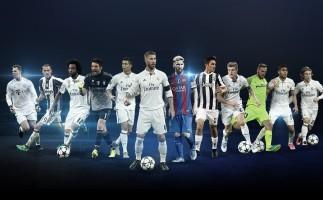 Los nominados a los premios de la UEFA Champions League 2016-2017
