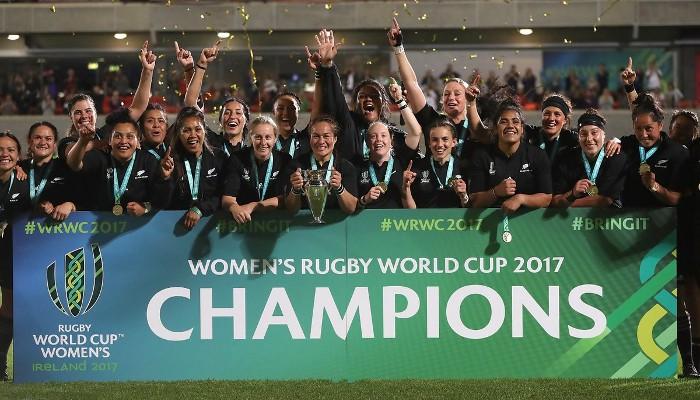 Nueva Zelanda ganó el Mundial de rugby femenino 2017