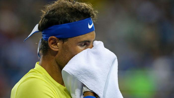 Rafa Nadal no está de acuerdo con los relojes en el tenis