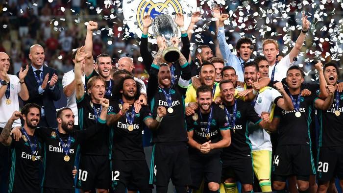 El Real Madrid ganó la Supercopa de Europa 2017