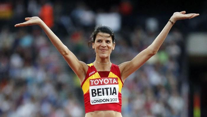 Ruth Beitia se despidió de los Mundiales sin medalla