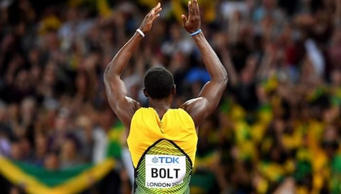 Usain Bolt no se pudo despedir con un oro en Londres 2017