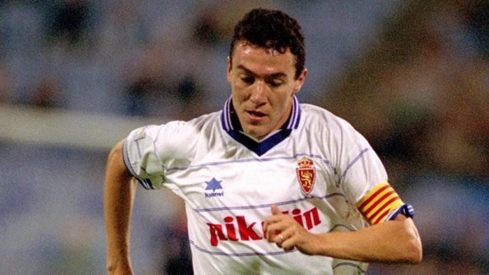 Xavi Aguado, una leyenda del Zaragoza
