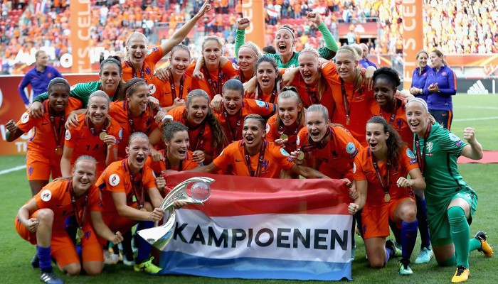 Holanda es la nueva campeona de Europa de fútbol femenino