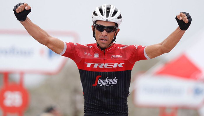 Contador se despidió del ciclismo ganando en el Anglirú