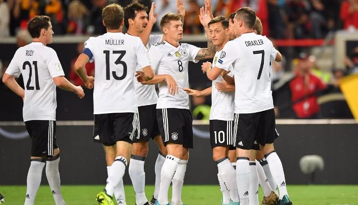 Alemania está a un punto de Rusia 2018