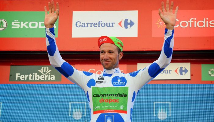 Davide Villella ganó la clasificación de la montaña en la Vuelta 2017