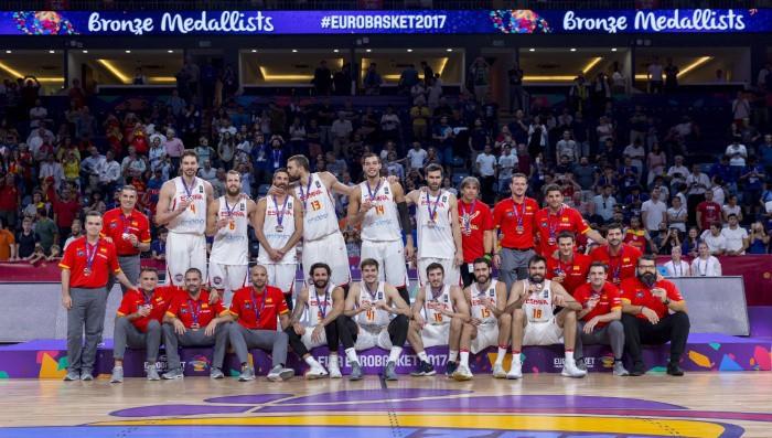España con la medalla de bronce del Eurobasket 2017
