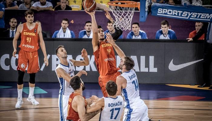 España ganó con claridad a la República Checa en el Eurobasket 2017