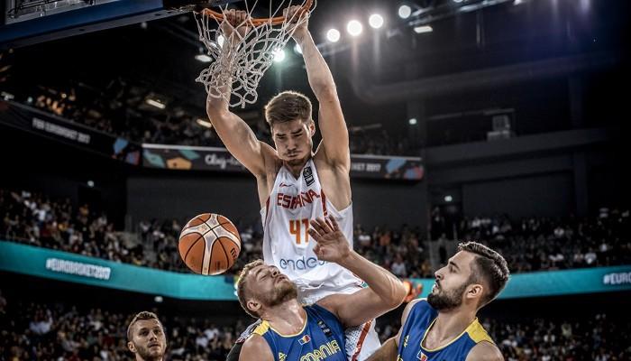 España superó a Rumanía en el tercer partido del Eurobasket