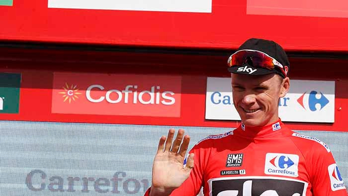 Froome sigue de líder de la Vuelta a España 2017