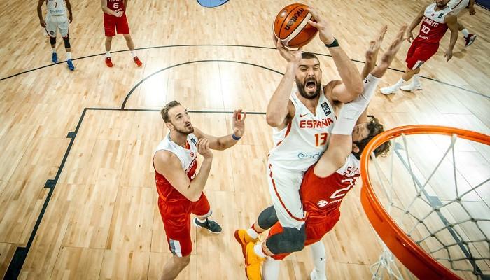Marc Gasol en una acción ante Turquía