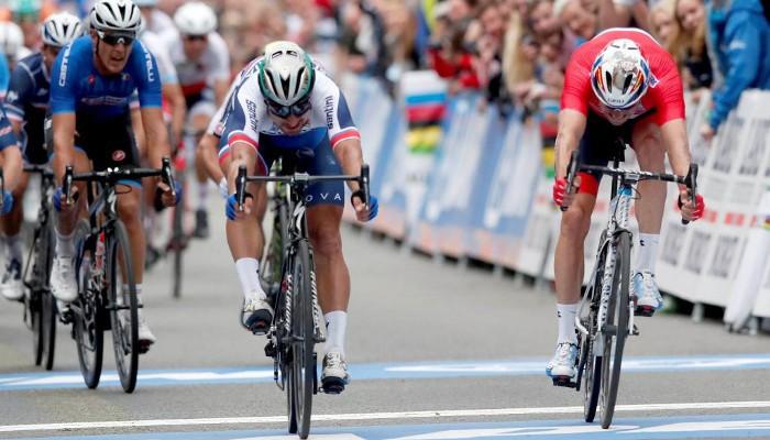 Peter Sagan gana su tercer mundial consecutivo