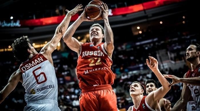 Rusia venció a la anfitriona Turquía en la primera jornada
