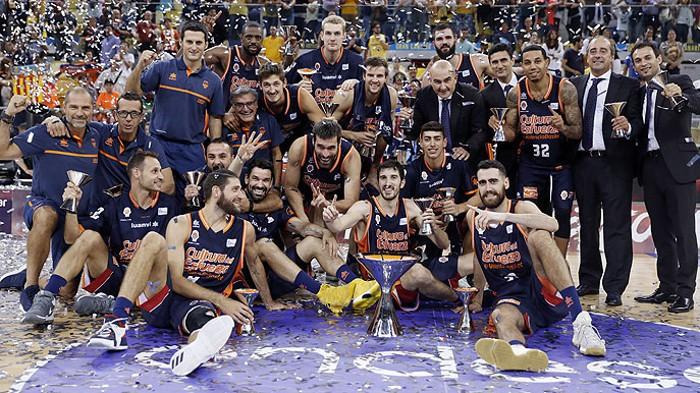 Valencia Basket campeón de la Supercopa de España de baloncesto