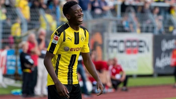 Dembele en su etapa en el Borussia Dortmund