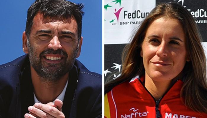 Bruguera y Medina son los nuevos capitanes del tenis español