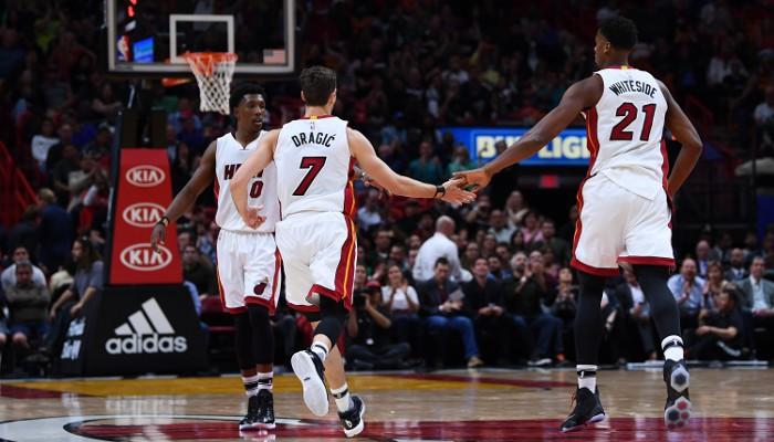 Dragic y Whiteside son los mejores jugadores de los Heat