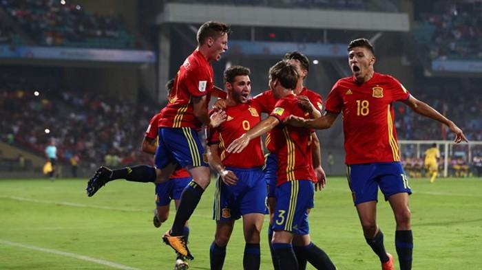 Mundial sub 17 2017: España e Inglaterra jugarán la gran final
