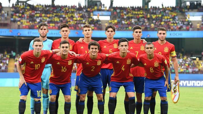 España estará en octavos de final del Mundial sub 17