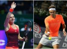 Halep alaba la rivalidad entre Federer y Rafa Nadal