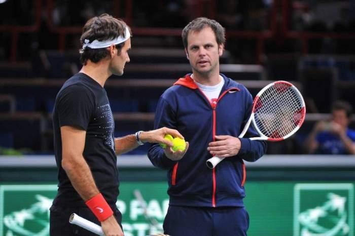 """Severin Luthi: """"Federer me impresiona y me sorprende"""""""