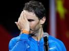 Rafa Nadal podría perderse Basilea por lesión a la rodilla