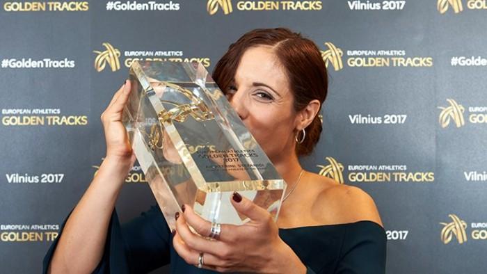 La griega Stefanidi es la mejor atleta europea de 2017