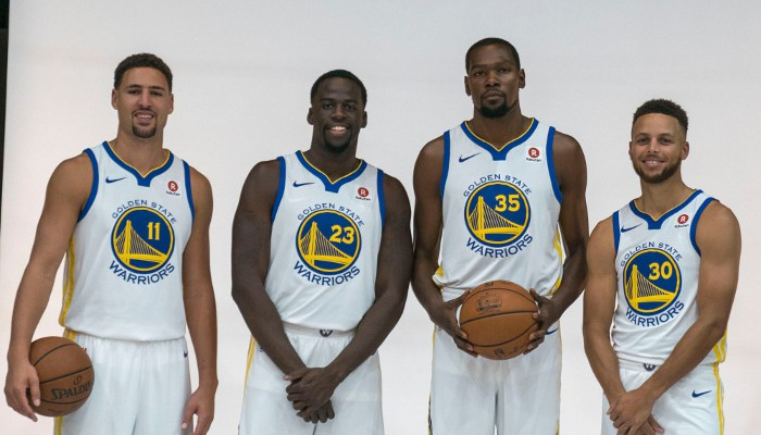 NBA: Warriors favoritos para el anillo de 2018