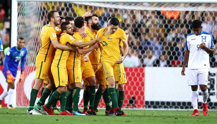 Australia no faltará al Mundial de Rusia 2018