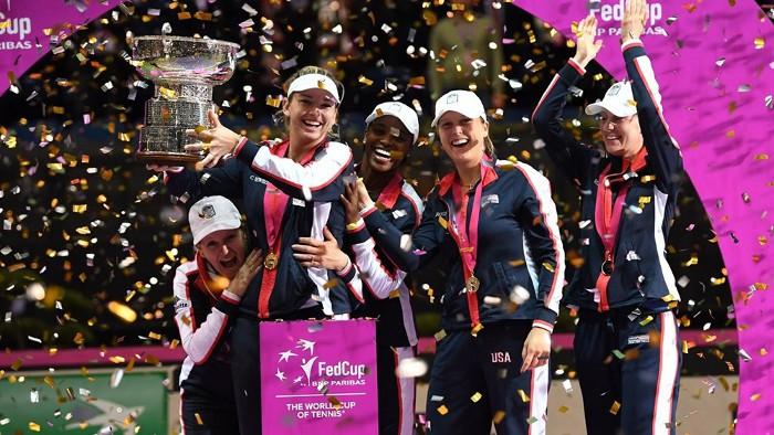 Estados Unidos gana la Fed Cup 2017