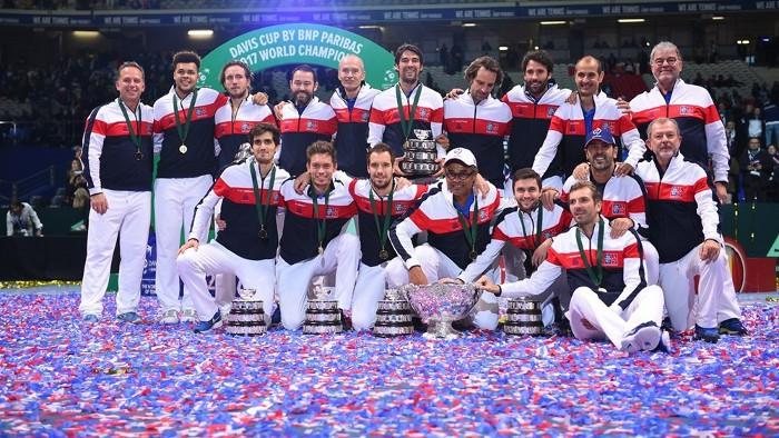 Francia ha ganado la Copa Davis 2017
