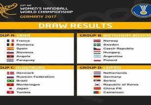 La selección española prepara el Mundial de balonmano femenino 2017