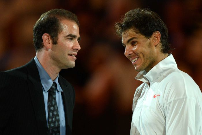 """Sampras: """"Lo de Federer, Nadal y Djokovic es alucinante"""""""